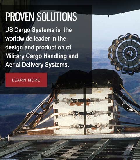 Telair US Cargo Systems: Worldwide leader in Military Cargo Handling and Aerial Delivery Systems